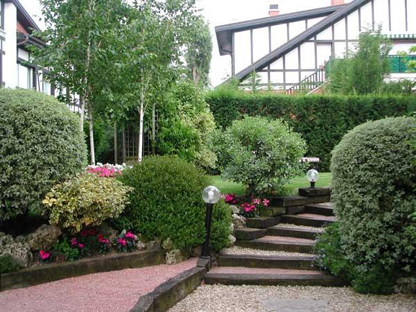 Decoración de jardines con piedras