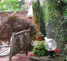 rincones especiales en el jardín